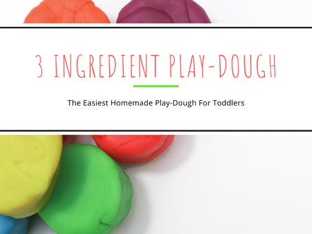 Simple Homemade Play-Dough