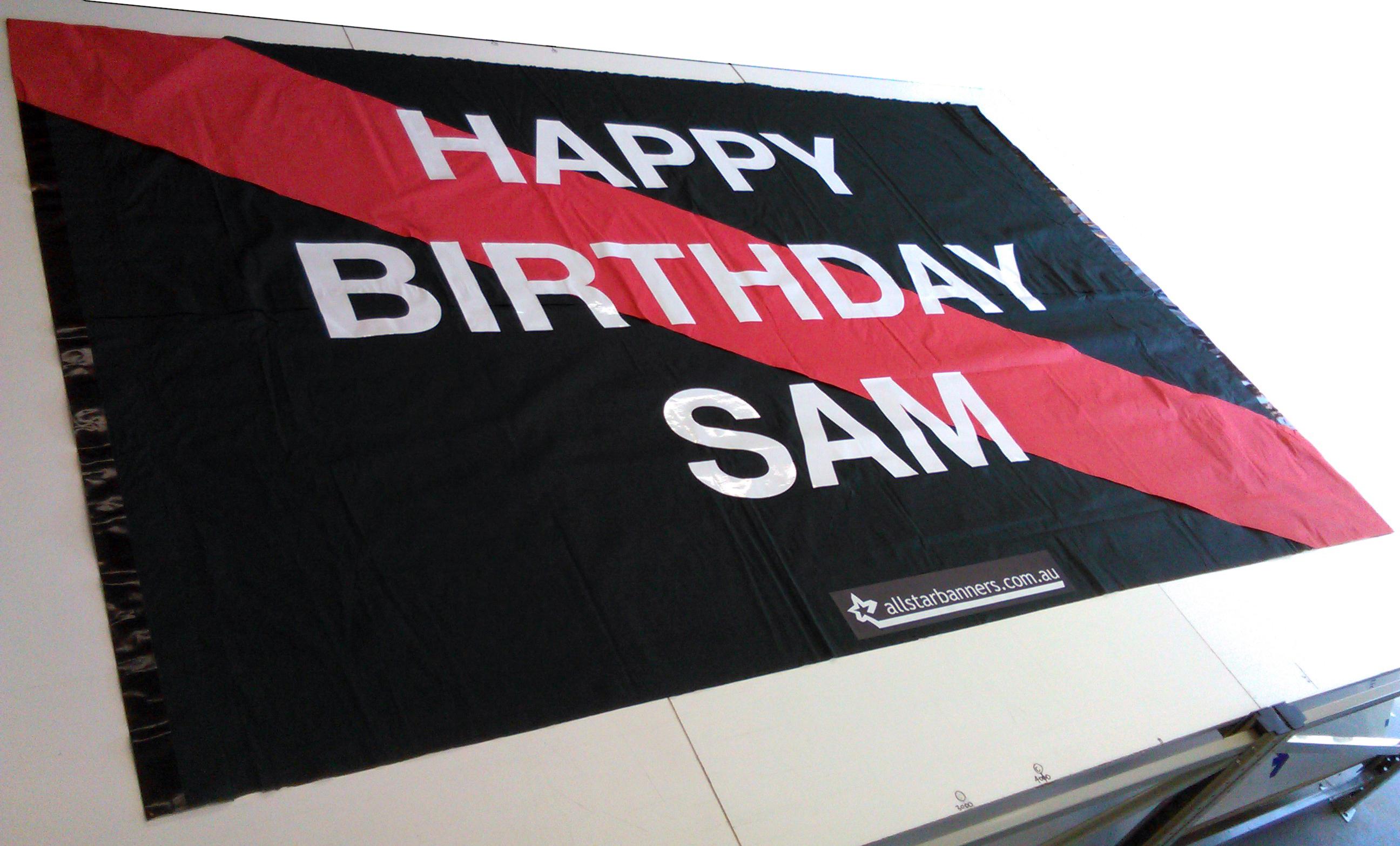 Sams Birthday