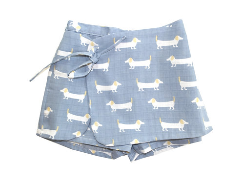 Falda pantalon perros