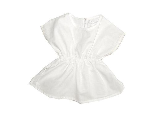 Camisa Asilah voile blanco