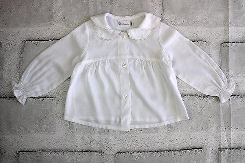 Camisa Blanca 3 cuellos