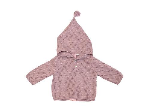 Jersey capucha rosa