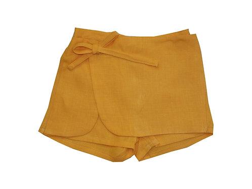 Short naranja