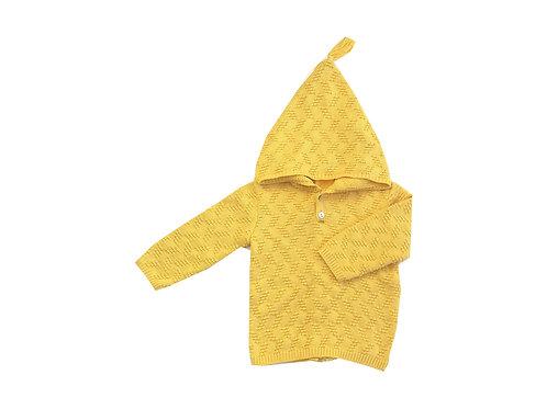 Jersey cremallera amarilla
