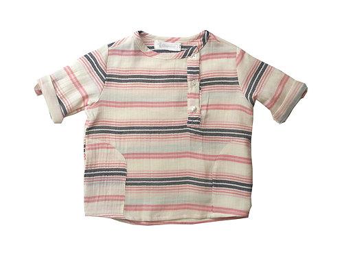 Camisa rusa rayas