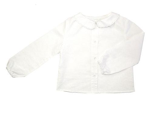 Camisa zig zag cuello