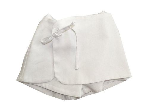 Falda Pantalon blanca