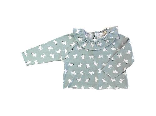Camiseta cora perros
