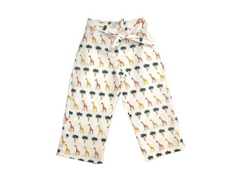 Pantalon luz jirafas