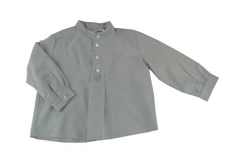 Camisa pechera verde seco