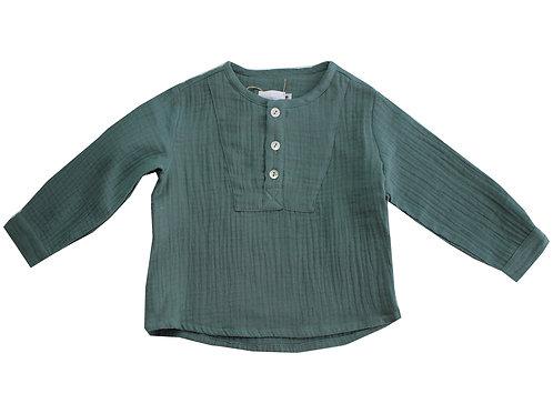 Camisa pechera verde