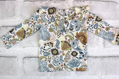 camiseta punto estampado