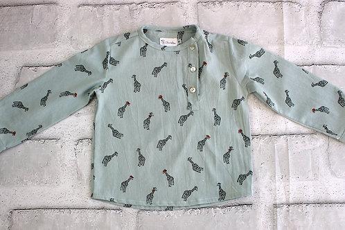 Camisa jirafas