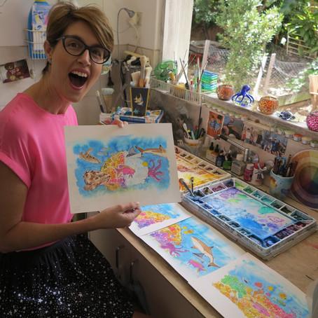 Meet Biologist, Author and Artist Dr. Sue Pillans