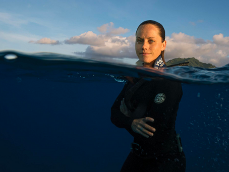 Shark Week: Meet Marine Conservationist Jess Cramp