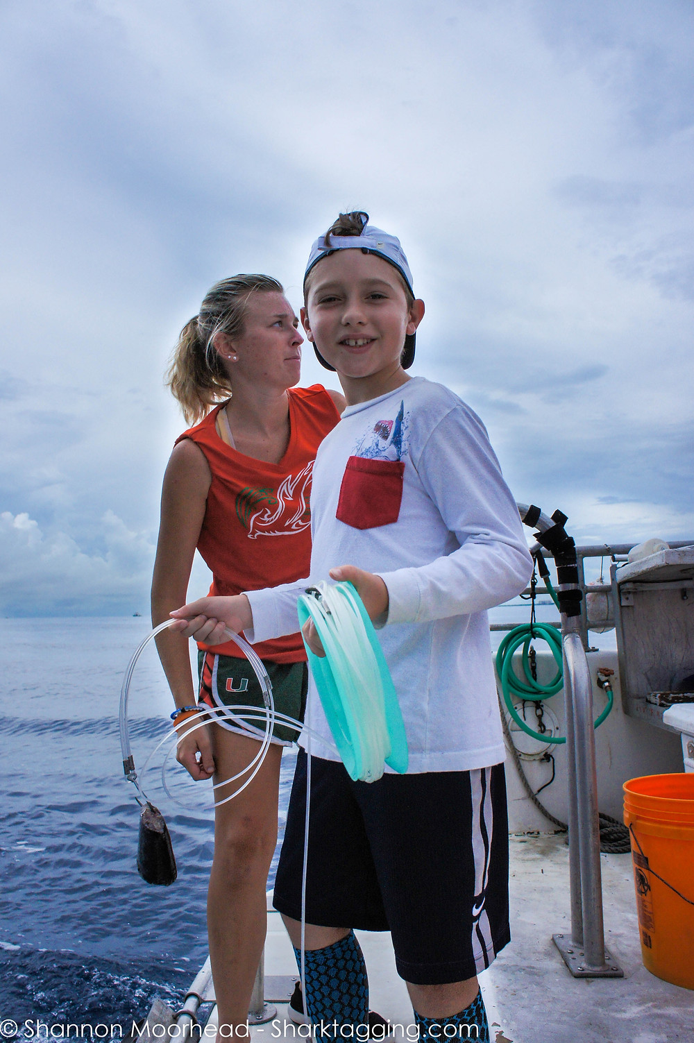 Jake ready to tag sharks with University of Miami