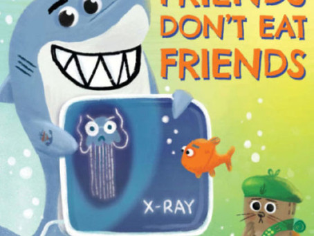 Book Review: Misunderstood Shark Friends Don't Eat Friends