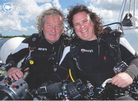 Meet Sharks4Kids Regional Ambassadors Nick & Caroline Robertson-Brown
