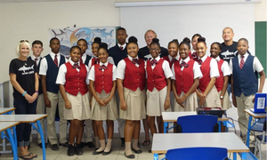 Sharks4Kids & Nature Foundation educating students in St. Maarten about sharks