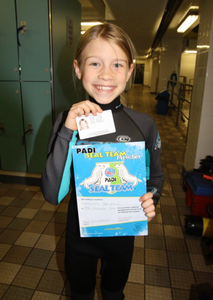 Charlotte the PADI Diver
