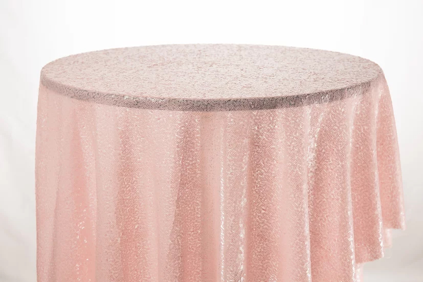 Sequin Cloth (Baby Pink)
