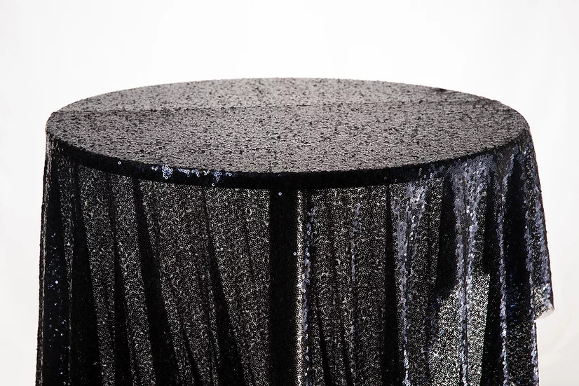Sequin Cloth (Midnight Blue)