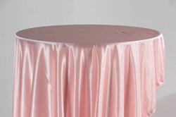 Jersey Table Cloth (Pink)