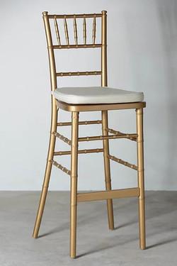 Tiffany Bar Chair (Gold)