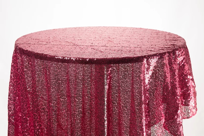 Sequin Cloth (Dark Pink)