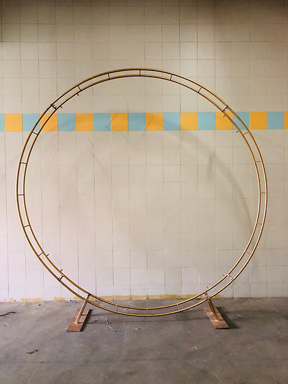 Gold Circle Arch
