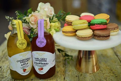Macaron & Sparkling Tea