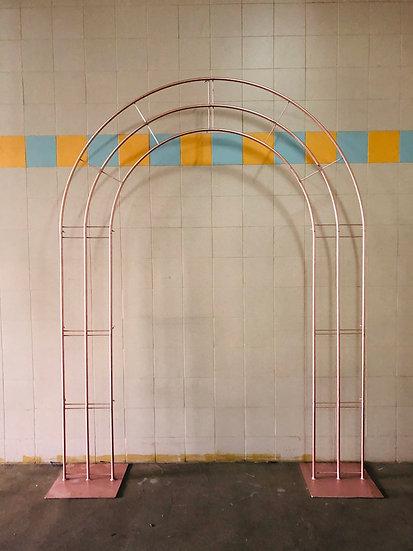 Rosegold Semicircle Arch