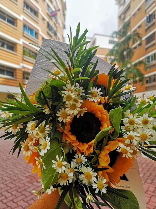 Omakase Sunflower Bouquet