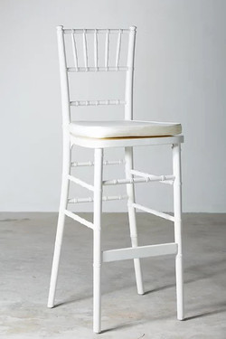 Tiffany Bar Chairs (White)