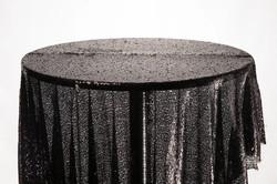 Sequin Cloth (Black)