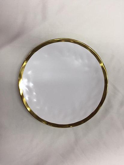 Golden Rim Plate