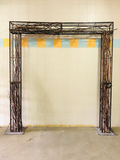 Wooden Square Arch