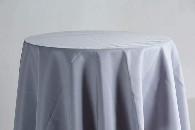 Cotton Table Cloth (Grey)