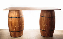 Wooden Barrel Table
