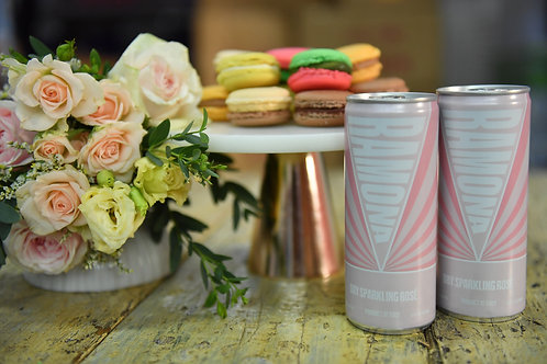 Macaron & Sparkling Rosé