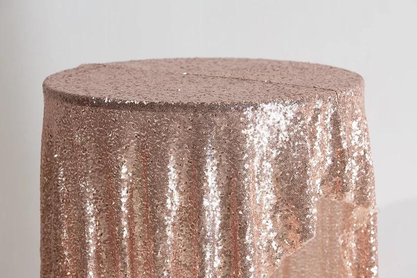 Sequin Cloth (Rose Gold)