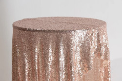 Sequin Cloth (Rose Gold)