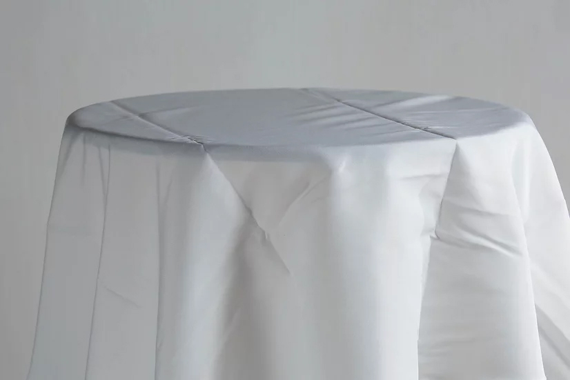 Cotton Table Cloth (White)