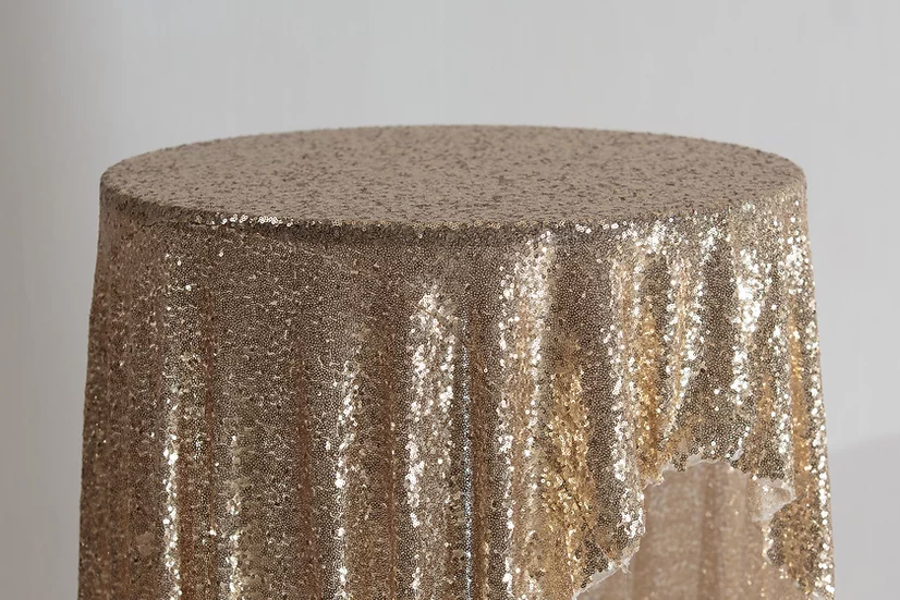 Sequin Cloth (Champagne Gold)
