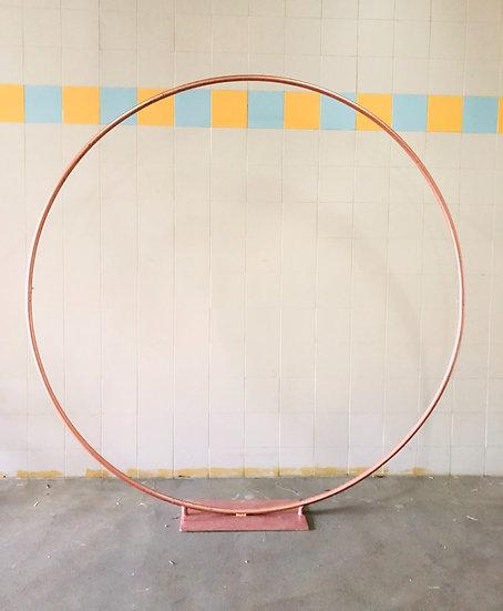 Rosegold Circle Arch