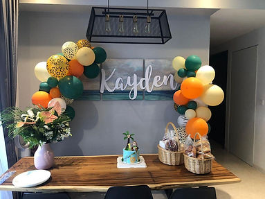 Balloon Themed Baby Shower