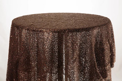 Sequin Cloth (Brown)