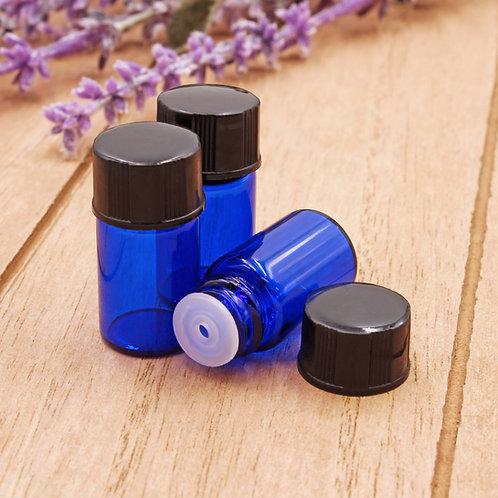 2ml Cobalt Glass Vials (3 Pack)