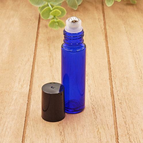 10ml Cobalt Glass Roller Bottle