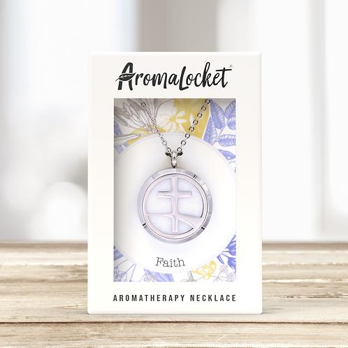 Faith Diffuser Necklace